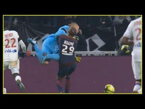 Mbape Injury Vs Lopes Lyon