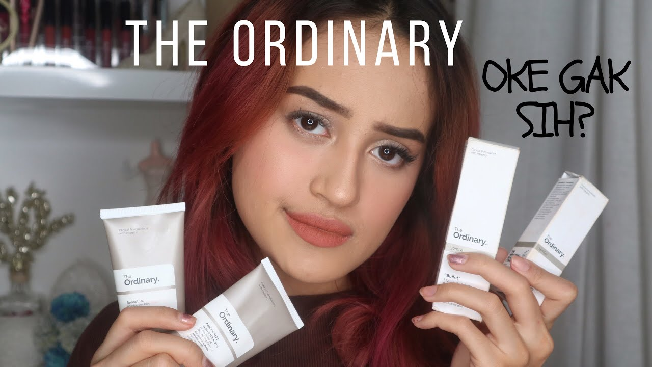 Review Skincare The Ordinary Acne Prone Skin Nadya Aqilla Indonesia Youtube