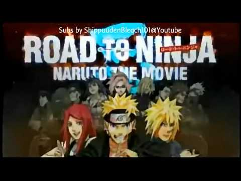 [CM]Naruto Shippuuden Movie 6 Road to Ninja- Trailer 2 ENG SUB