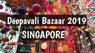 Little India Deepavali Bazaar 2019, SINGAPORE | Little India Market | Diwali Shopping 2019 |