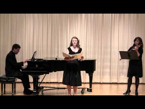 Sarah Locke 's Senior Recital at Oklahoma Christian University  Part 1