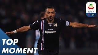 Quagliarella Opens The Scoring For Sampdoria   Lazio 2-2 Sampdoria   Top Moment   Serie A