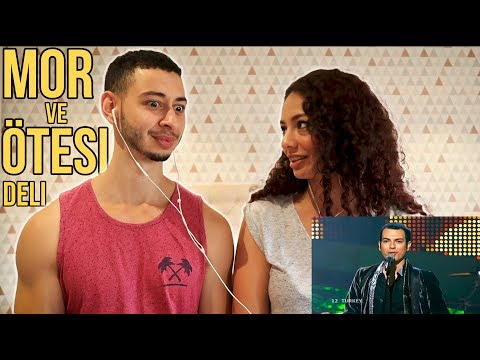 Eurovision Mor ve Otesi Deli 🇹🇷 Turkish Rock Music Reaction | Jay & Rengin
