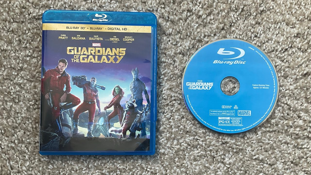 Download Opening To Guardians of the Galaxy 2014 Blu-Ray