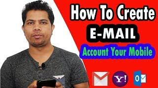 Wie das erstellen von E-mail-Konto für Ihre Mobile | Einer Minute Öffnen Sie keine E-Mail-Konto