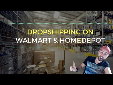 Dropshipping On Ebay From Walmart And Home Depot (Step-By-Step Tutorial)