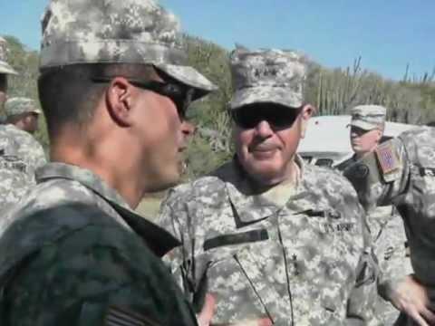 Army Guard Director Visits JTF Guantanamo