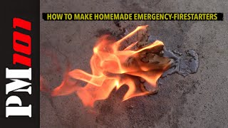 How To Make Homemade Emergency Fire Starters - Preparedmind101
