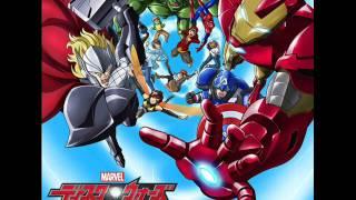 Marvel Disk Wars The Avengers - Tsuki Yabureru! Time to SMASH!