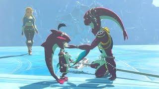 Zelda: BOTW (Baby Sidon, Mipha & Zelda Cutscene) The Champions' Ballad