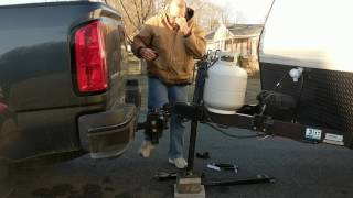 How to hook up a weight distribution trailer hitch