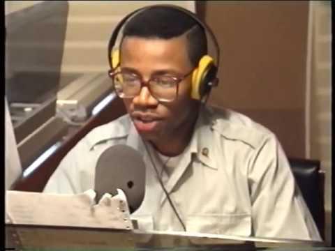 AFN Berlin Radio segment from RIAS TV 1242
