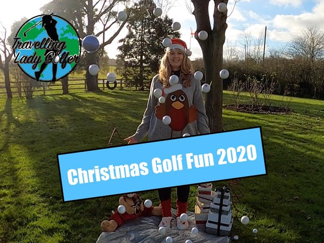 Christmas Golf Fun 2020 | Lady Golfer | Travelling Lady Golfer