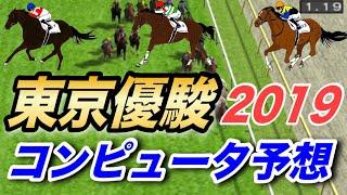 2019年 日本ダービー コンピュータ予想 実力重視設定【競馬シミュレーション】