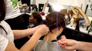Venexiana Backstage Neo Gatsby Hair MBFW NY SS 2012 Anastasia Lambrou Thumbnail