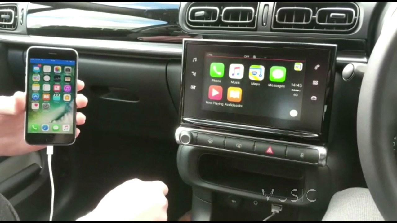 Apple Carplay Demo Citroen C3