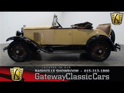 1929 Chevrolet Roadster - Gateway Classic Cars of Nashville #161