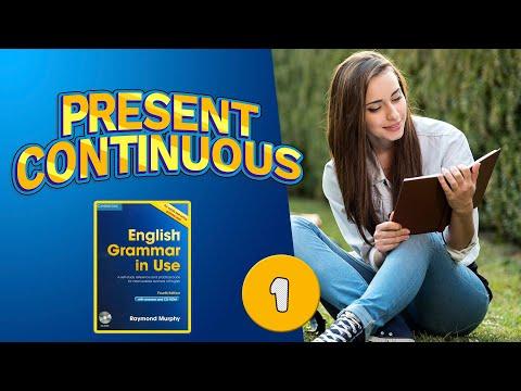 #1 Тренажёр по учебнику Мёрфи синий  Present Continuous  Базовый уровень