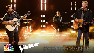 """Voice Alumnus Ian Flanigan Performs """"Grow Up"""" with Coach Blake Shelton - The Voice Live Top 9"""