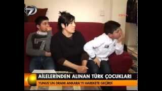 Ailelerinden alınan Türk çocukları - Kanal 7 Ana Haber Videoları