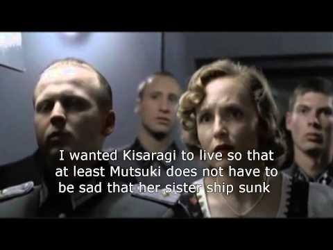 Hitler reacts to Kisaragi's death in Kantai collec