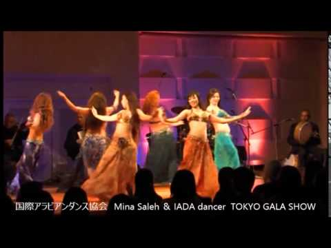 Japan Bellydance Mina Saleh@Tokyo gala show