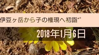伊豆ヶ岳~子の権現へ初詣*゚