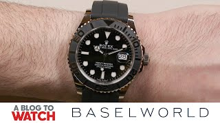 Rolex Yacht-Master 42 Ref. 226659 Watch Hands-On | New for Baselworld 2019 | aBlogtoWatch