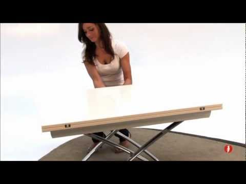 Calligaris Magic J wood coffee dining table YouTube
