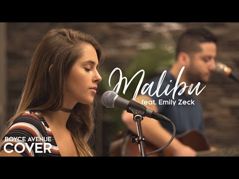 Malibu  Miley Cyrus Boyce Avenue ft Emily Zeck acoustic  on  & Apple