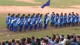 70th independence day parade at ANGUL stadium