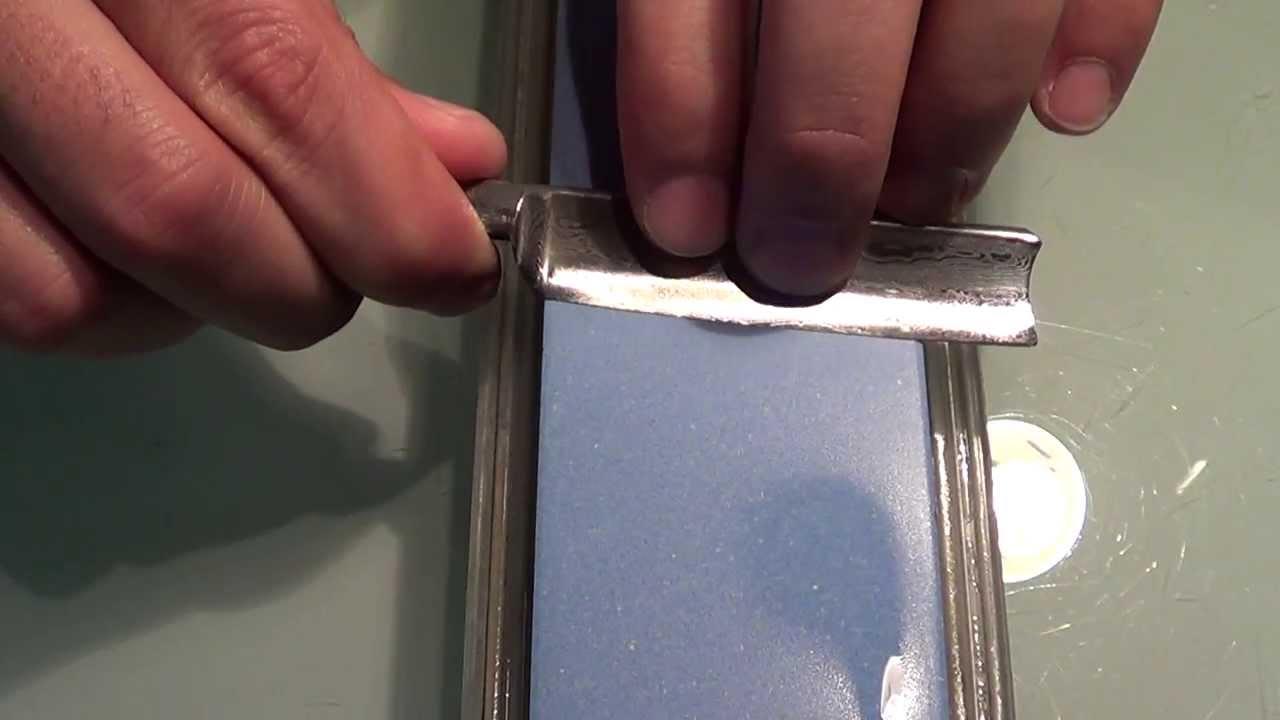 Hervorragend Rasiermesser schärfen - YouTube TU23