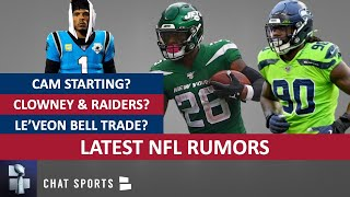 NFL Rumors: Cam Newton Starting? Jadeveon Clowney News? Antonio Brown & Seattle? Jamal Adams Trade?