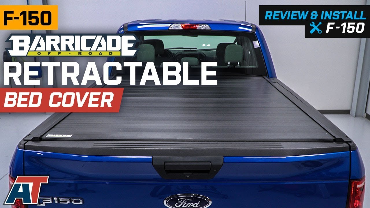 2015 2018 F150 Barricade Retractable Bed Cover Review Install Youtube