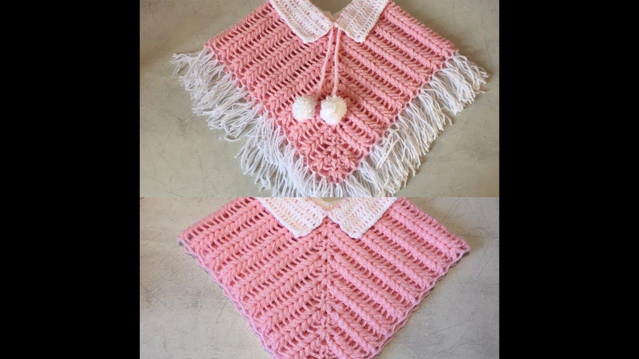 Tuto Poncho Cape Au Crochet