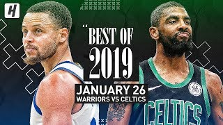 Best of 2019: Golden State Warriors vs Boston Celtics - Full Game Highlights | January 26, 2019 Video