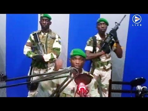 'If you are sleeping, wake up!' Gabon military officers seize radio station in apparent coup attempt