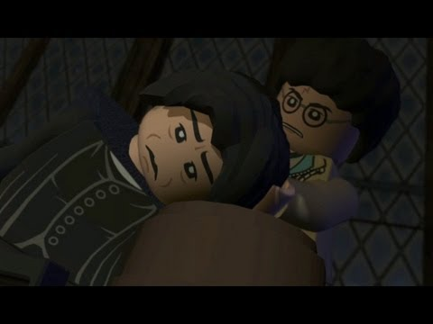 LEGO Harry Potter Years 5-7 Walkthrough Part 25 - Year 7 Deathly Hallows - Snape's Tears