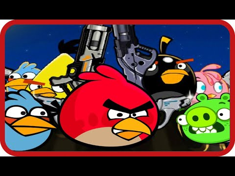 Angry Birds Ultimate Battle Shooting Game Walkthrough All Levels 1-12