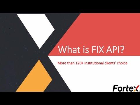 What is FIX API?