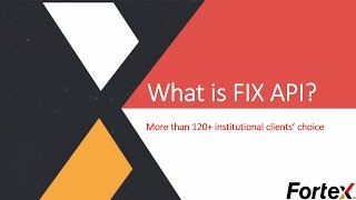 What is FIX API?