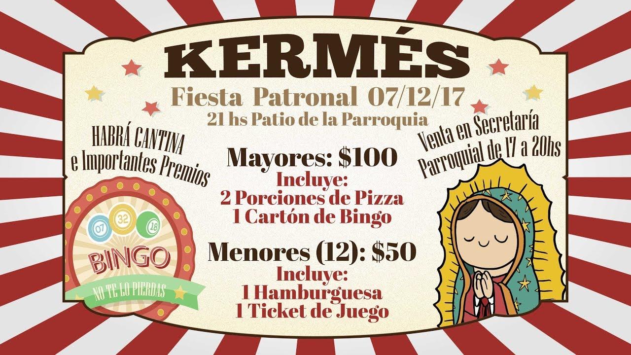 Invitación Fiesta Patronal Guadalupe