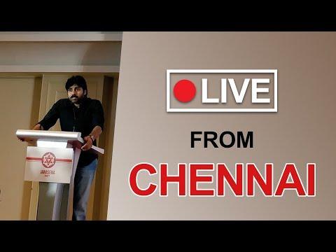 LIVE | JanaSena Chief Interaction with Media from Chennai | JanaSena Party