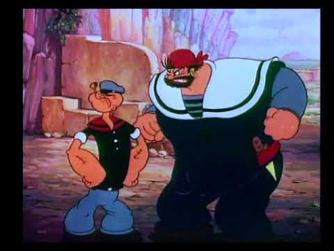 Popeye The Sailor Man Excerpt - Popeye Meets Sinbad