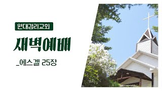 9.15 새벽예배 / 원대감리교회(강원도 인제 원대리)…