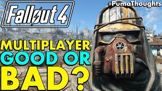 Would Fallout 4 Online Multiplayer with PvP and Co Op Be Good? (Online Fallout 4) #PumaThoughts