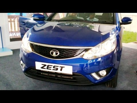 NEW TATA ZEST Compact Sedan Diesel & Petrol Review Complete Inside and outside video India 2014 [HD]