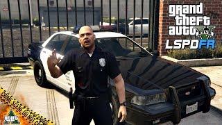 [GTA] - LSPDFR #01 STRÁŽNÍK JOHNSON (GTA 5 Reálný Život Policisty - Česky)