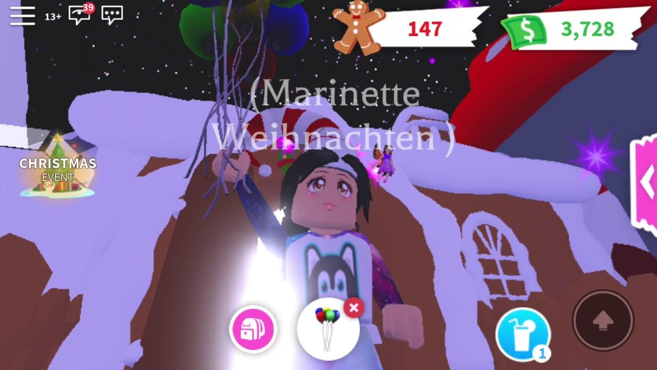 Ich und mein Christmas egg...😂 in Adopt me||Weihnachts Spezial - YouTube