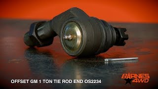 GM 1 Ton Offset Tie Rod End